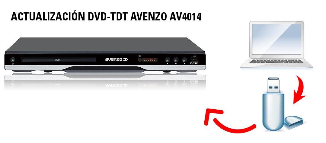 Actualización DVD-TDT Avenzo AV4014
