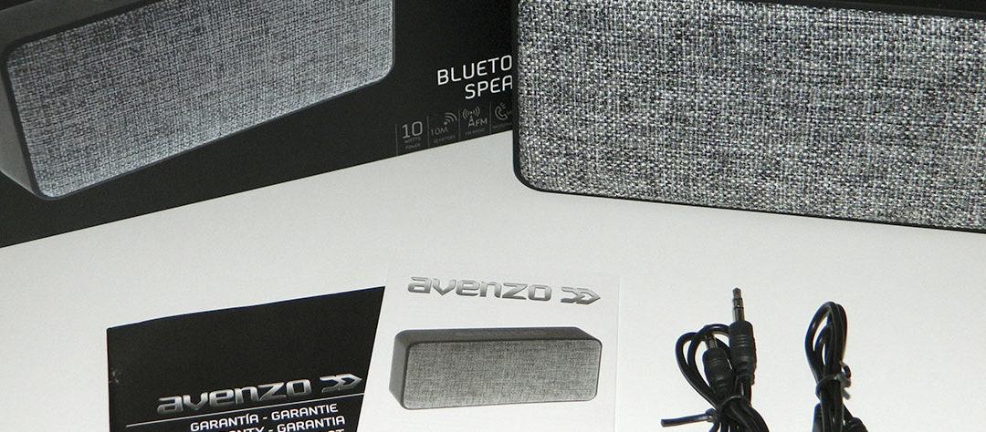 Altavoz Bluetooth AV645 de Avenzo. Unboxing de Vilandroid y ¡SORTEO!