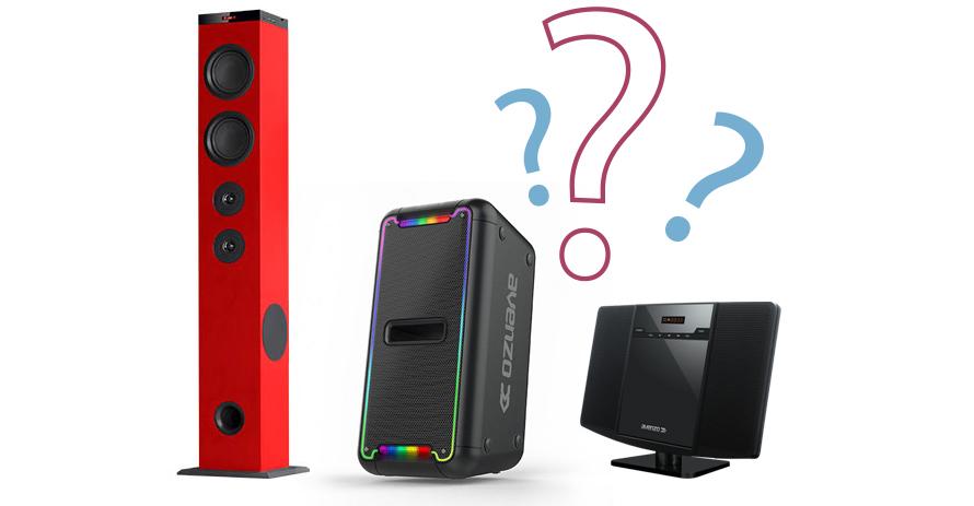 ¿Qué debo tener en cuenta al elegir un equipo de sonido?
